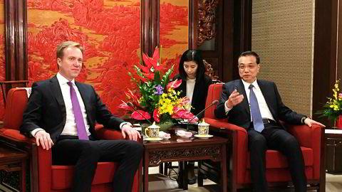 Kina-rådgiver Christian Heiberg ser store muligheter nå som utenriksminister Børge Brende og hans kinesiske kollega Wang Yi er blitt enige.