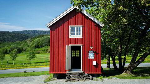 Fra 1850. Stabburet er ikke særlig stort, men her har Langøra kaffebrenneri holdt til i halvannet år.