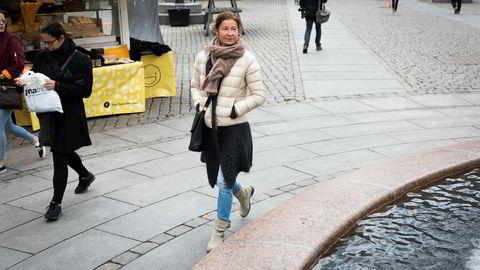 Catharina Oustad (53) er positiv til regjeringens forslag til pensjonssparing med skattefradrag.