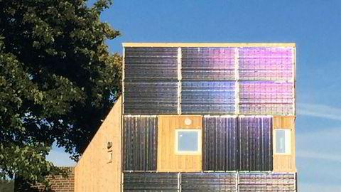 Bygningsintegrerte solstrømanlegg (BIPV).