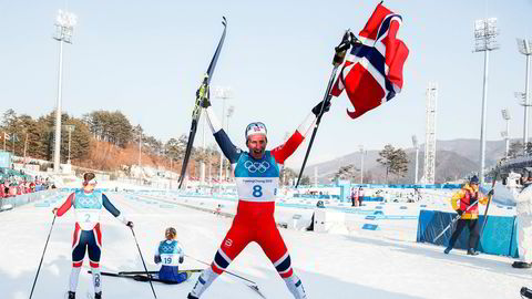 Over 726.000 så Marit Bjørgen ta OL-gull i klassisk 30 km i Alpensia Cross-Country Skiing Centre under vinter-OL i Pyeongchang.