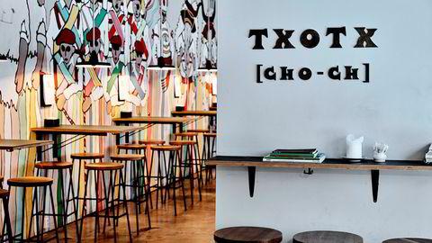 Spania, ta denne kalk fra meg. Txotx, uttales «tsjotsj», er med sine «pintsjos» på god vei til å bli en Oslo-institusjon.