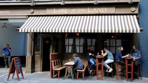 By og land. Gastropuben Lore of the Land ligger i Fitzrovia, like nord for Londons travleste turistløyper.