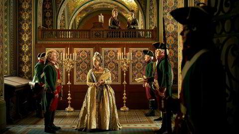 Store deler av «Catherine the Great» er spilt inn i Litauens mange palasser og gir dramaet en storslått ramme.
