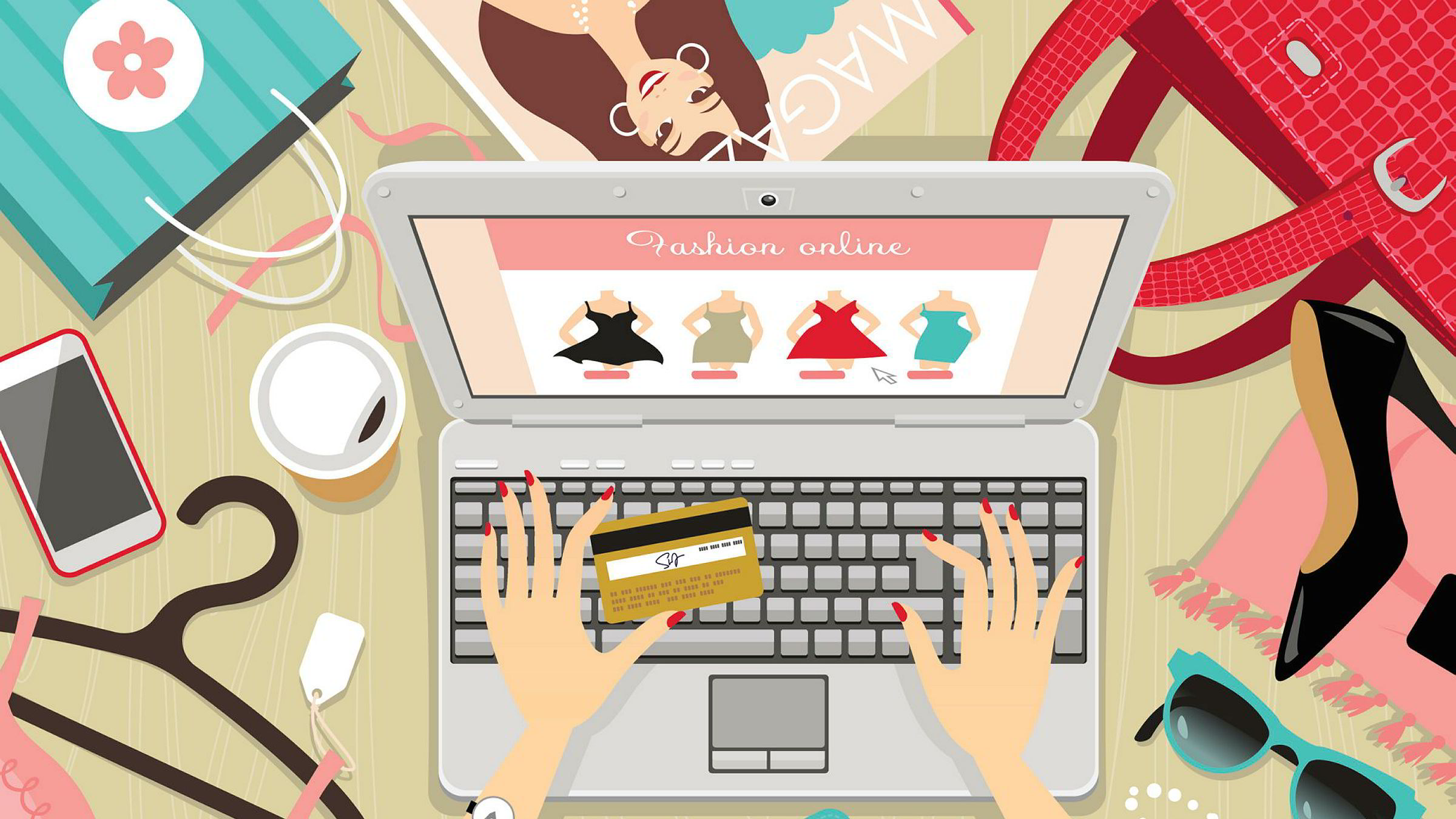 Å handle på nett er ikke nødvendigvis særlig bra for miljøet.