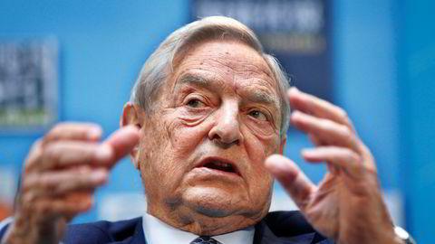 George Soros har ikke mye godt å si om president Donald Trump.