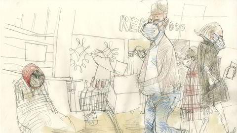 I pandemikø på vestkantpolet