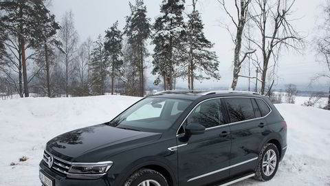 Volkswagen Tiguan Allspace er en solide saker, men man føler ikke at man sitter i en bil til 700.000 kroner.