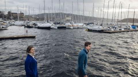 Maren Hjorth Bauer og Sverre Martinsen gikk i samme klasse på barneskolen. Nå følger de drømmen og starter et vekstfond som skal investere i havselskaper.