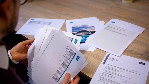 Daglig leder Andreas Beining i Beining & Bogen har gjort et dypdykk i pensjonsordningen han har kjøpt av DNB. Det kuttet forvaltningshonoraret med 57 prosent.