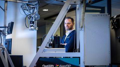 Gründer og hovedeier i Optilift, Torbjørn Engedal, tror industrien vil omfavne selskapets teknologi for fjernstyring ved hjelp av sensorer og kunstig intelligens.
