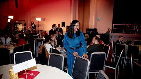 En varslingsprosess i Oslo Ap den siste måneden avdekker en rekke påstander om varaordfører i Oslo og nestleder i Oslo Ap, Kamzy Gunaratnam. Her fra partiets valgvake i 2019.