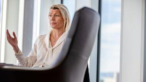 DNB, her representert ved konsernsjef Kjerstin Braathen, risikerer en rekordhøy bot.