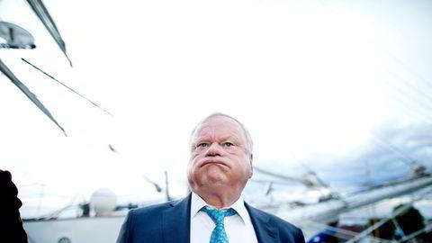 John Fredriksens Seadrill står overfor nok en komplisert gjeldsrestrukturering. Her er hovedeieren i 2013, da han fortsatt var styreleder i selskapet.
