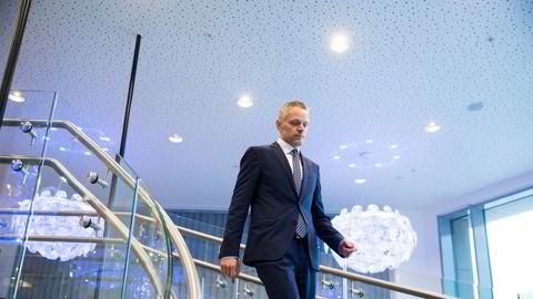 Sjefstrateg Christian Lie i Danske Bank tror markedene skal roe seg noe de neste månedene.
