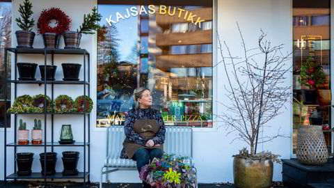 – Cateringvirksomheten døde fredag den 13. mars. Det var vanskelig å forklare kundene vår situasjon, sier gründer Kajsa Nylander i gaselleselskapet Kajsas, som opprettholdt omsetningen takket være matbutikken på Nesøya i Asker.