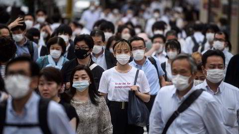 Japan var allerede inne i en økonomisk resesjon da koronapandemien rammet ved begynnelsen av året. Som de fleste land i Asia har Japan lagt bak seg smitteutbruddene. Nå er den økonomiske veksten på vei tilbake.