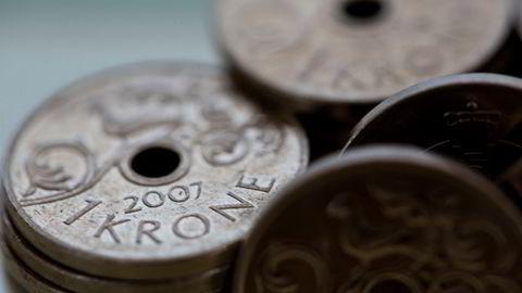 Kronen har ikke vært så sterk mot dollar siden 7. september i år.