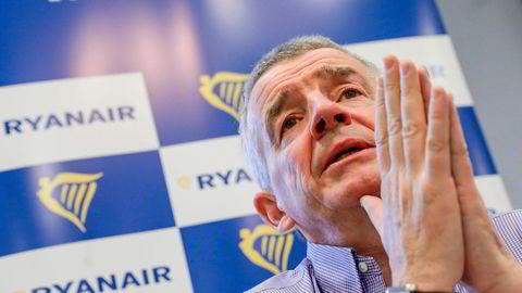 Ryanair-sjef Michael O'Leary ser lyst på fremtidsutsiktene når folk begynner å fly igjen.