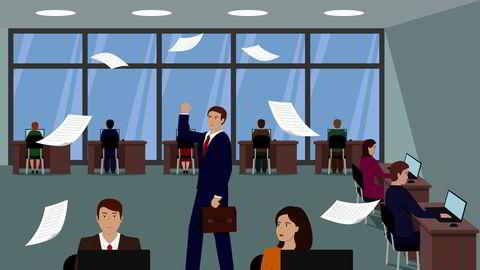 Når ansatte får høre at kolleger tjener ti prosent mer enn dem selv, synker produktiviteten, skriver Njål Andersen og Ellen Rebeca Kackur.