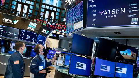 Wall Street startet det nye året med nedgang.