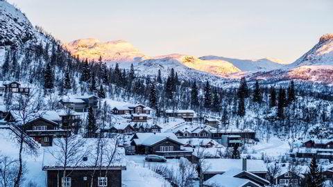 I Hemsedal har etterspørselen etter leiehytter økt enormt denne julen.