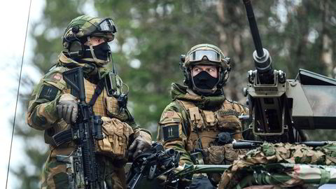 Heimevernssoldater fra Innsatstyrke Heron deltok under Nato-øvelsen Trident Juncture 2018 i Norge.