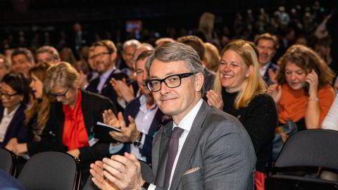 Konsernsjef Øyvind Eriksen angrer ikke på at Aker ikke har satset på oppdrett. – I Aker velger vi primært å se fremover, sier han.