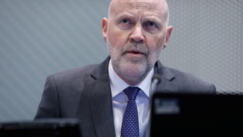 Finanstilsynsdirektør Morten Baltzersen er bekymret for bankenes utlånstap.