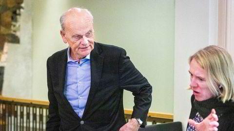 Både Ap og Høyre går ut mot kompensasjonspakken. Her ved sine talspersoner: Anniken Huitfeldt og Michael Tetzschner.