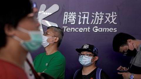 Kinesiske Tencent nærmer seg en børsverdi på 1000 milliarder dollar. Det ventes nye oppkjøp av spillselskaper.