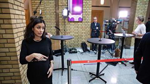 Hadia Tajik i Arbeiderpartiet.