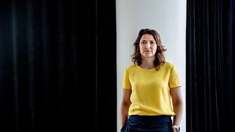 Sonja Horn, administrerende direktør i Entra, har hatt flere svenske kjøpere på trappen de siste ukene.