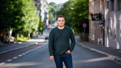 Studentleder Andreas Trohjell er kritisk til at studentene skilles ut som en enkeltgruppe.