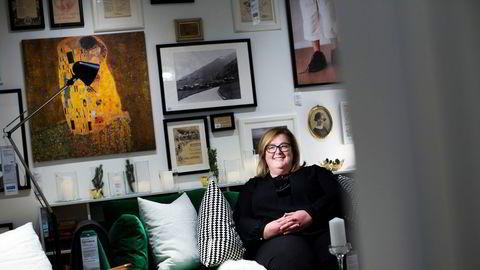 Ikea har de siste årene jobbet mye med å utvikle neste generasjons varehus. Her er Clare Rodgers som leder Ikea Norge.