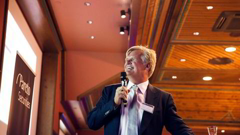 Tor Olav Trøim grunnla Borr i 2016, drøye to år etter bruddet med milliardæren John Fredriksen, og børsnoterte det året etter. I dag er han tredje største aksjonær i selskapet, ifølge børstjenesten Holdings.