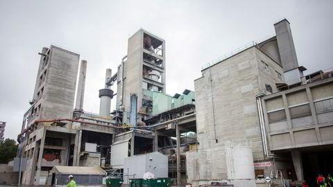 Norcem i Brevik startet arbeidet med å utrede CO 2-fangst fra sementproduksjon allerede i 2005.