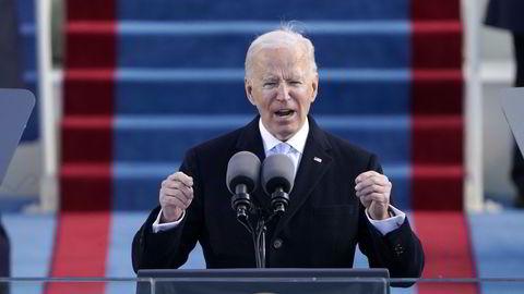 President Joe Bidens første dag på jobb var nok også den enkleste han vil ha i sin fire års-periode.