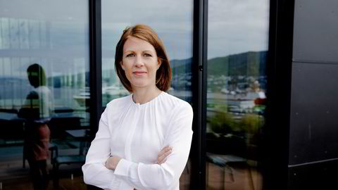 Ragnhild Janbu Fresvik, konsernleder for bedriftsmarked i Sparebanken Vest.