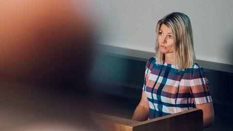 Ingrid Sølvberg, sjef i Oljedirektoratet, la i formiddag frem tallene for sokkelåret 2020.