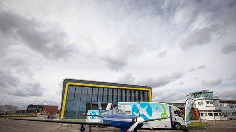Zeroavia har som ambisjon å ha et hydrogenfly med 19 seter klart i 2023, skriver artikkelforfatterne.