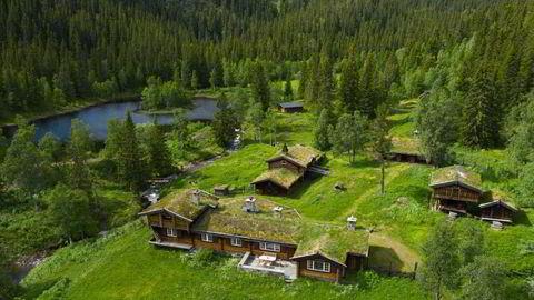 Melsombu i Seljord i Telemark til salgs for 22 millioner kroner.