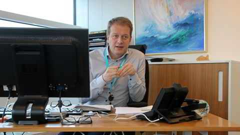 Salgsdirektør Europa Brede Løfsgaard i Cermaq