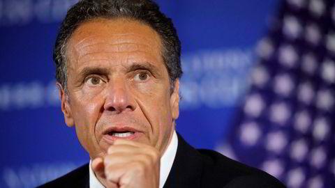 New York-guvernør Andrew Cuomo er anklaget for seksuell trakassering.