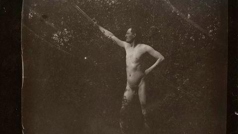 Munchmuseet viser Edvard Munchs selfier