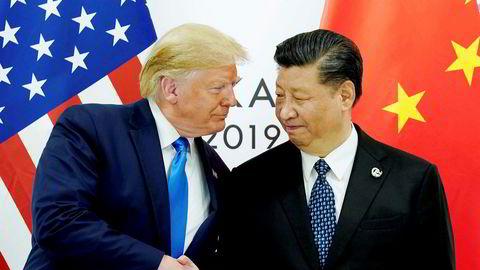 USA og Kina kan nærme seg en avtale.