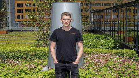 Lars Henrik Hafstad Karlsson mener han fikk konkurranse i stedet for hjelp i møtet med det halvoffentlige gründerapparatet.