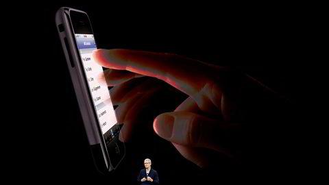 Helt til slutt på pressekonferansen 12. september sa administrerende direktør Tim Cook i Apple «one more thing» – og lanserte den nye Iphone 8. Men Apple klarte ikke å hindre Swatch i å få kloa i varemerket «One more thing».