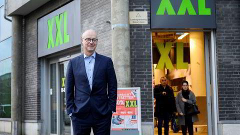 Pål Wibe er XXLs nye sjef. Han gikk fra Europris til XXL tidligere i år.