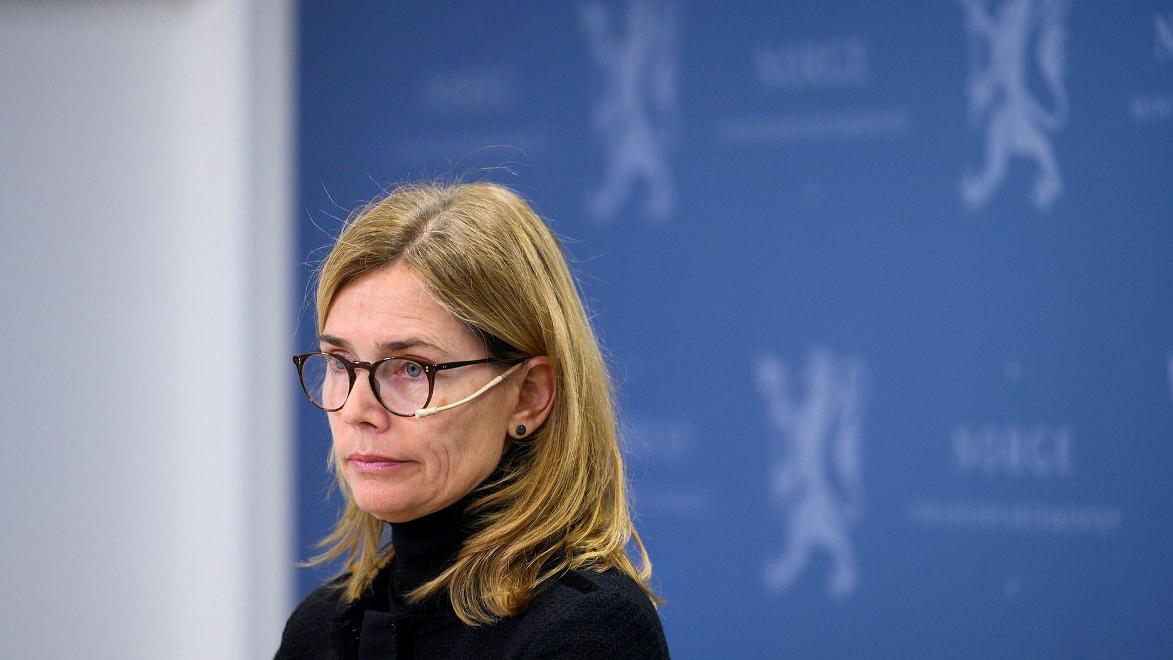 Lakseskattutvalget ble ledet av økonomiprofessor Karen Helene Ulltveit-Moe.